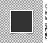 photo frame square on... | Shutterstock .eps vector #1044093841