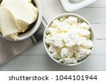 dairy products and thyme... | Shutterstock . vector #1044101944