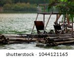 paddle bicycle boat made from...