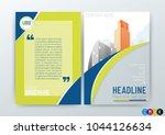 abstract modern business...   Shutterstock .eps vector #1044126634