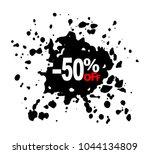 50  off black splash discount...