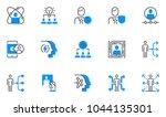 human resource management... | Shutterstock .eps vector #1044135301