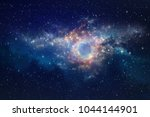 galaxies  star clusters and... | Shutterstock . vector #1044144901