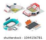 baseball  football  hockey and... | Shutterstock .eps vector #1044156781