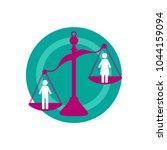 discrimination against women....   Shutterstock .eps vector #1044159094