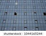 windows of a business building... | Shutterstock . vector #1044165244