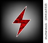 electric lighting bolt icon....   Shutterstock .eps vector #1044165535