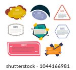 set of modern color templates... | Shutterstock .eps vector #1044166981