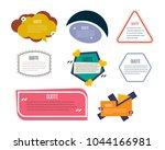 set of modern color templates...   Shutterstock .eps vector #1044166981