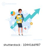 planning manager. personal ... | Shutterstock .eps vector #1044166987