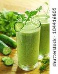 healthy drink  vegetable juice  ... | Shutterstock . vector #104416805