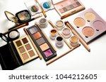 flat lay of professional... | Shutterstock . vector #1044212605