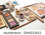flat lay of professional... | Shutterstock . vector #1044212611