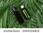 cosmetic bottle containers with ... | Shutterstock . vector #1044226825