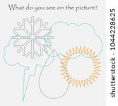 find hidden objects on the... | Shutterstock .eps vector #1044228625