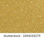 vector gold glitter background... | Shutterstock .eps vector #1044233275