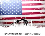 high jump background with space ... | Shutterstock . vector #104424089
