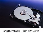disassembled hard drive from... | Shutterstock . vector #1044242845