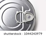 top view of a food tin can on a ... | Shutterstock . vector #1044243979