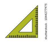 triangle ruler vector   Shutterstock .eps vector #1044277975