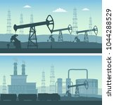 oil industry transportation... | Shutterstock .eps vector #1044288529