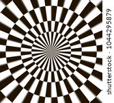 optical illusion  black and...   Shutterstock .eps vector #1044295879