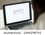 computer error failure concept  ...   Shutterstock . vector #1044298741