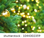 christmas tree with holiday... | Shutterstock . vector #1044302359