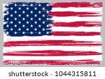 grunge usa flag.vector flag of...   Shutterstock .eps vector #1044315811