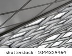 tilt bottom view of structural... | Shutterstock . vector #1044329464