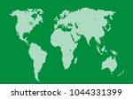 dotted world map.   Shutterstock .eps vector #1044331399