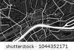 art black white map city | Shutterstock .eps vector #1044352171