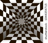 optical illusion  black and...   Shutterstock .eps vector #1044354715