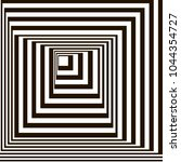 optical illusion  black and... | Shutterstock .eps vector #1044354727