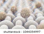 a microscopic close up view of... | Shutterstock . vector #1044354997