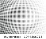 abstract halftone wave dotted... | Shutterstock .eps vector #1044366715