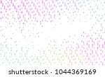 light multicolor  rainbow... | Shutterstock .eps vector #1044369169