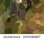 oil painting on canvas handmade....   Shutterstock . vector #1044386887