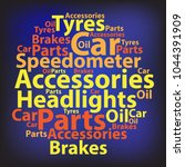 text cloud. car wordcloud.... | Shutterstock . vector #1044391909