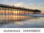 early morning at the atlantic... | Shutterstock . vector #1044408835