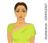 illustration of beautiful... | Shutterstock .eps vector #1044412567