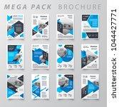 mega pack design template flyer ... | Shutterstock .eps vector #1044427771