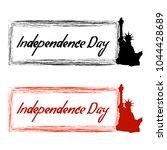 creative seasonal patriotic... | Shutterstock .eps vector #1044428689