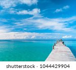path filled with love living is ... | Shutterstock . vector #1044429904