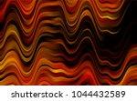 dark orange vector pattern with ... | Shutterstock .eps vector #1044432589
