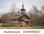 russian wooden historical house ...