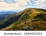 view from mountains in national ... | Shutterstock . vector #1044452101