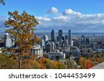 the city of montreal  canada... | Shutterstock . vector #1044453499