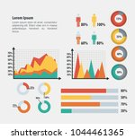 business infographic template... | Shutterstock .eps vector #1044461365