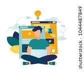 vector creative illustration of ... | Shutterstock .eps vector #1044487849